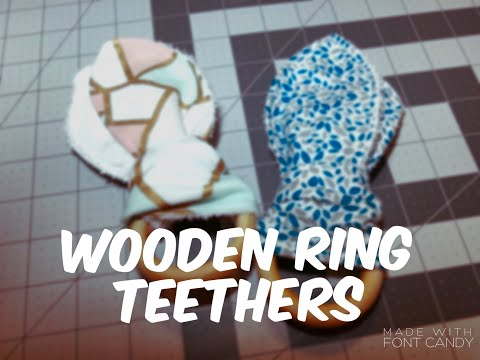 How to make a Wooden Ring Teether