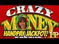 JACKPOT HANDPAY WIN CRAZY MONEY VIP SLOT MACHINE mp3