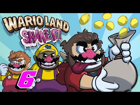 Wario Land Shake It! | Let's Play Ep. 6 | Super Beard Bros.