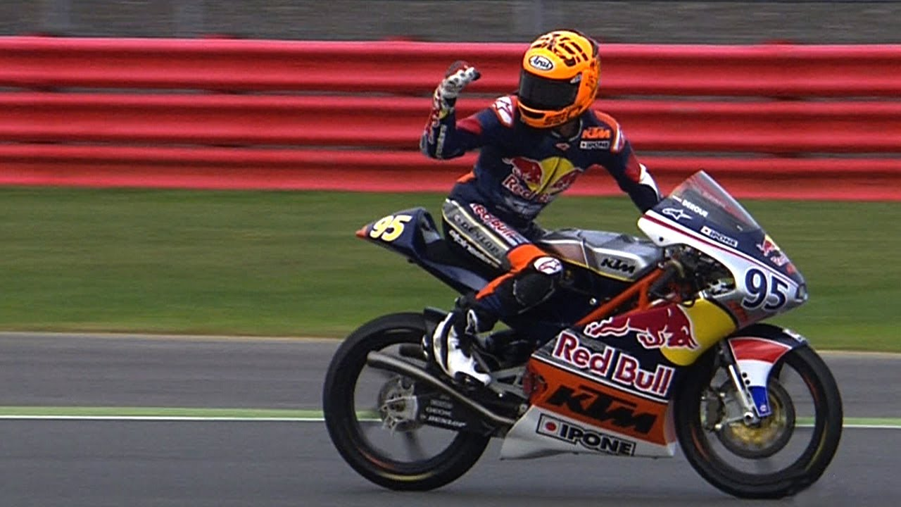 Red Bull MotoGP Rookies Cup 2013  Silverstone race 2  YouTube