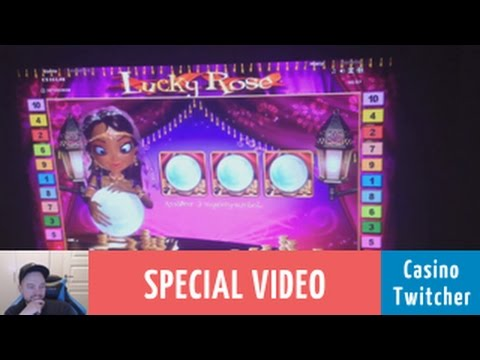 Lucky Rose, CT & Rex - Bet size: €20.00!! - High Rolling!