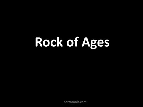 Rock of Ages, cleft for me instrumentals with lyrics