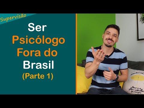 Ser Psicólogo Fora do Brasil