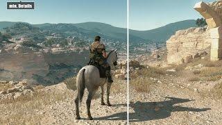 Metal Gear Solid 5 TPP PC | Min vs Max | Grafikvergleich / Graphics comparison
