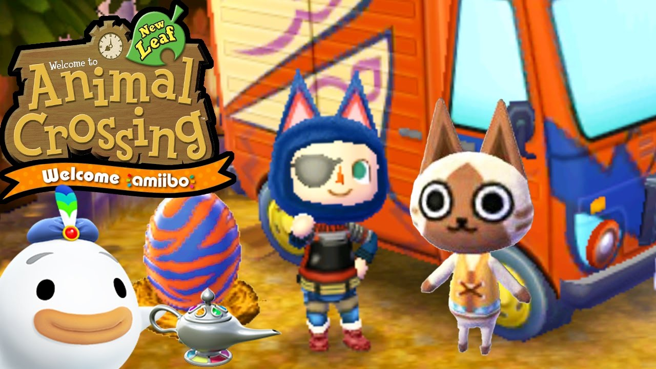 Animal Crossing New Leaf Welcome Amiibo Monster Hunter