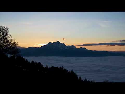 Central Switzerland Timelapse