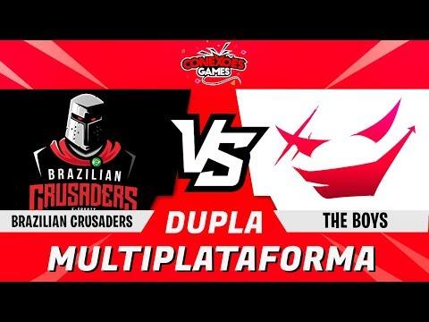 THE BOYS 2 vs BRAZILIAN CRUSADERS - TORNEIO DUPLAS MULTIPLATAFORMA - SEMI FINAL