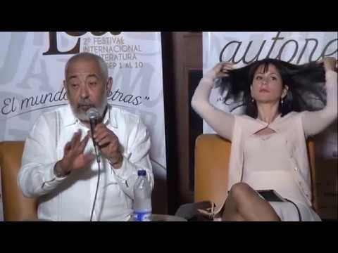 Oiga Mire Lea 2016 Leonardo Padura con Wendy Guerra