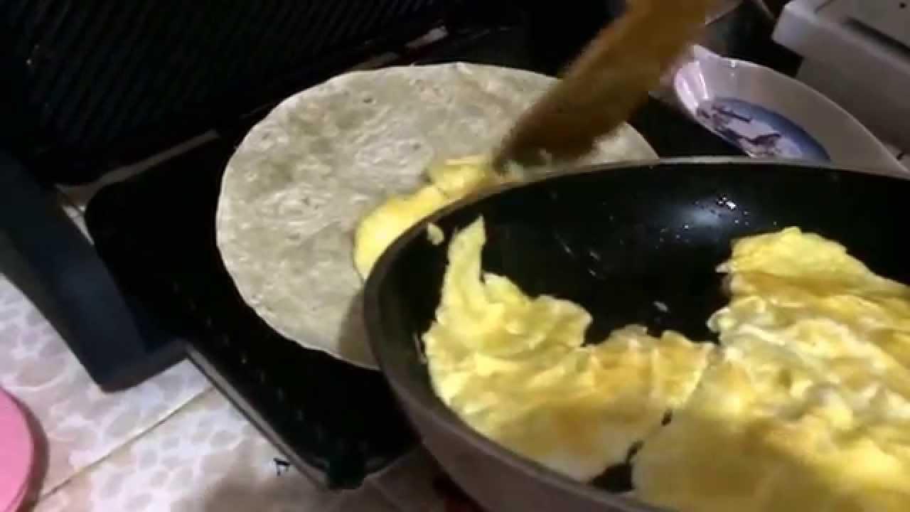 Lavaşlı Yumurtalı Kolay Dürüm