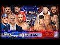 WWE SURVIVOR SERIES 2017 | TEAM SMACKDOWN LIVE VS TEAM RAW | MATCH CARD