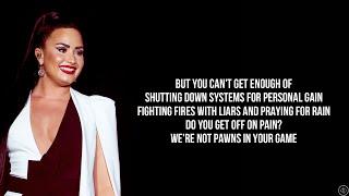 Demi Lovato - COMMĄNDER IN CHIEF (Lyrics)