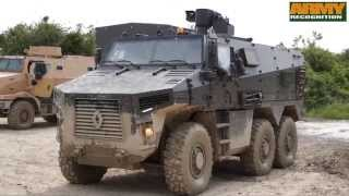 BMX 01 multirole armoured vehicle VBMR program live demonstration field test Renault Trucks Defense