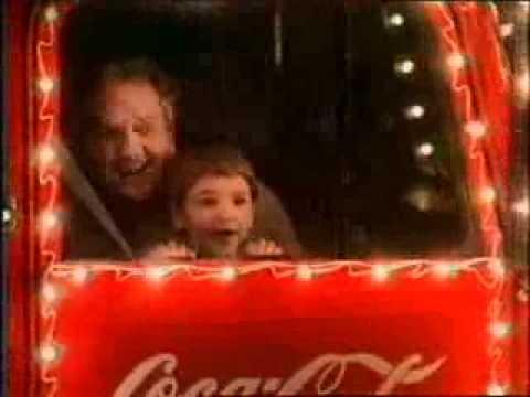 Реклама кока кола новый год старая сок добрый подделка