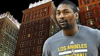 Metta World Peace Touched By Ghost In Haunted OKC Hotel