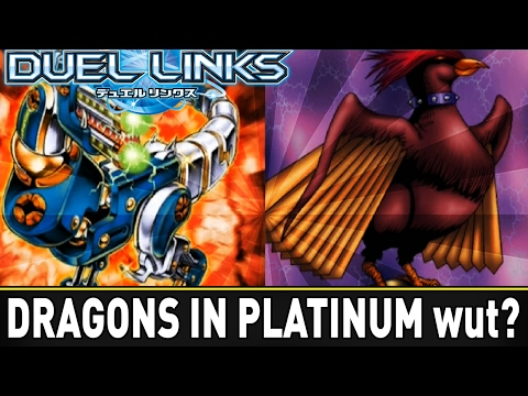 Dragons In Platinum Ranked GamePlay! | YuGiOh Duel Links Mobile w/ ShadyPenguinn