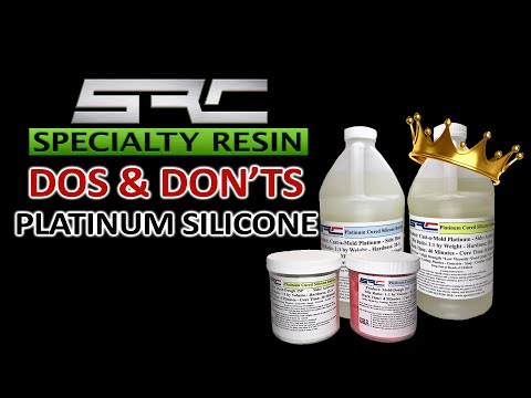 Platinum Silicone  Specialty Resin putty mold making and liquid silicone made for epoxy