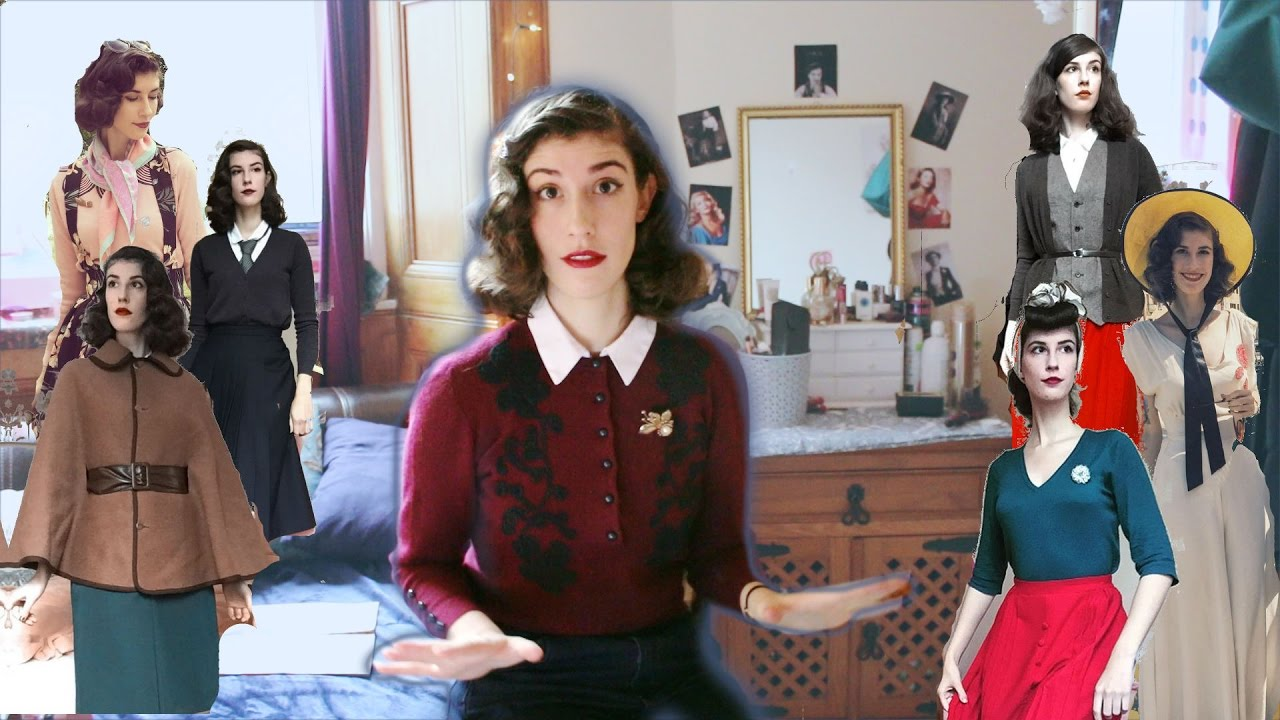 5 Tips On Wearing Vintage Style On A Budget Youtube