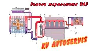 Замена термостата ВАЗ(Это краткое видео по проблеме холодной машины. Когда двигатель работает, а охлаждающая жидкость не греется...., 2015-10-22T07:22:04.000Z)