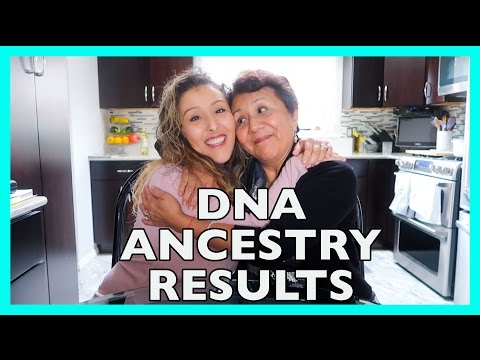 Thumbnail: DNA ANCESTRY RESULTS