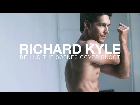 Richard Kyle Cover Shoot for Men's Health Indonesia