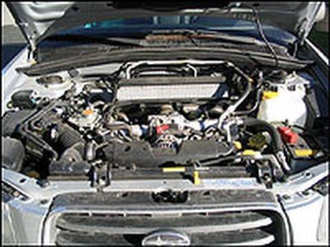 Как снять двигатель на субару форестер
