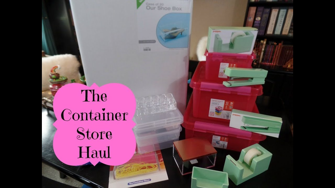 The Container Store Home Organization Haul