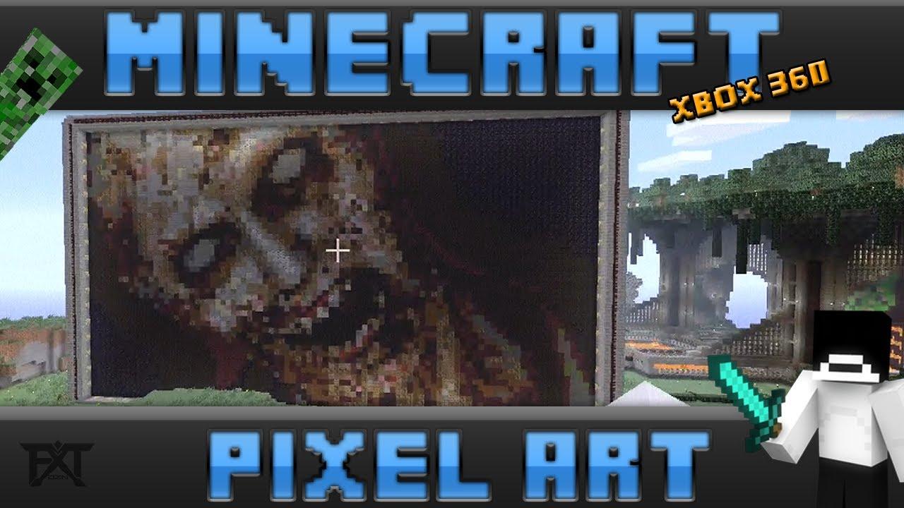 """MINECRAFT"" (Xbox 360) - ZOMBIE PHOTO PIXEL ART - YouTube"