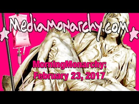 HAARP, Cannibalism & Letters on #MorningMonarchy: #February23