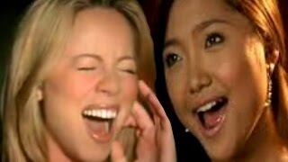 (EPIC) MY WHISTLE REGISTER MARIAH CAREY OH HOLY NIGHT VS. CHARICE  (WITH MY WHISTLE REGISTER)