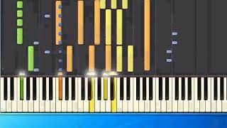 Michael Bolton   How can we be Lovers pr [Piano Tutorial Synthesia]