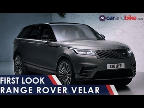Beautiful Range Rover Velar First Look  NDTV CarAndBike  YouTube