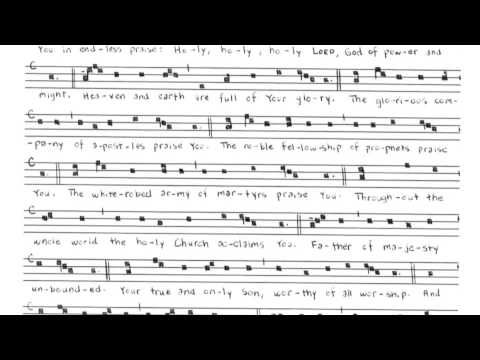 Te Deum (English Version)
