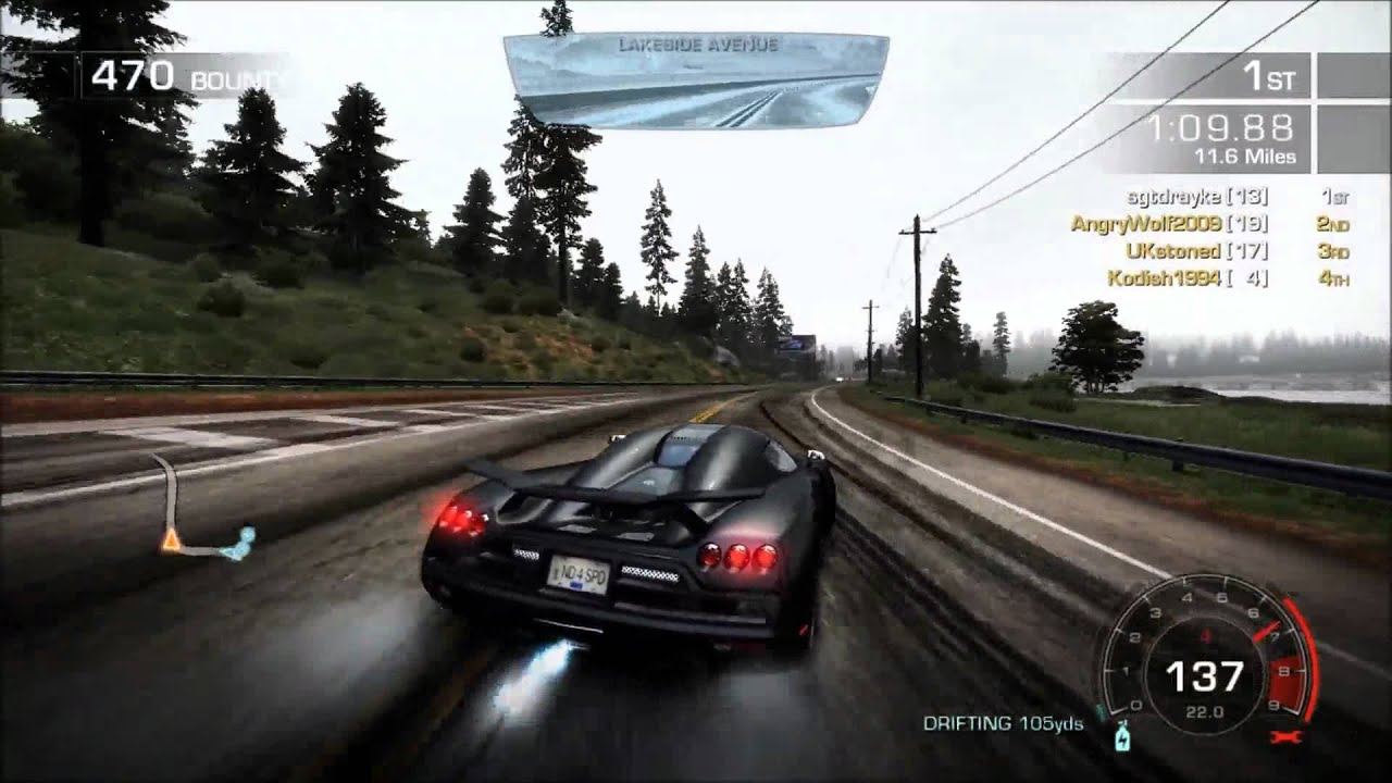 Need For Speed Hot Pursuit Race Veyron Vs Ccxr Hd Pc