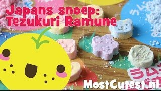 Japans Snoep - Tezukuri Ramune Diy Candy Tutorial - Mostcutest.nl Popin Cookin