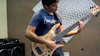 "Anderson Jhonny - Vou Pixingar ""A Slap Bass Solo to Celso Pixinga"""