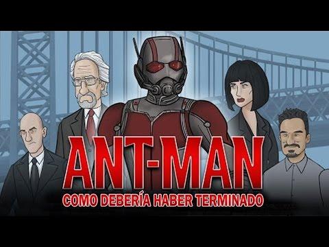 Como Ant-Man Debería Haber Terminado