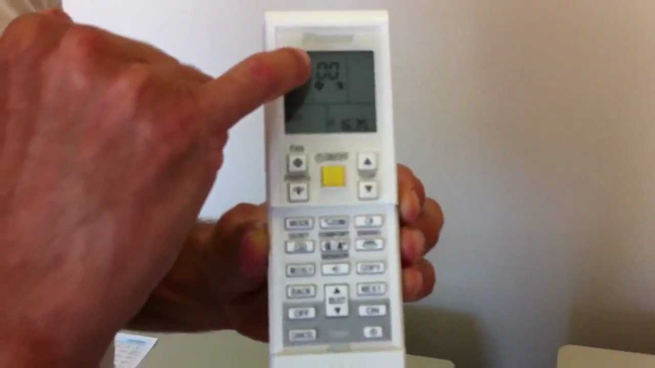 How to fault find a Daikin Air Conditioner, troubleshoot split system,  green flashing light MOV