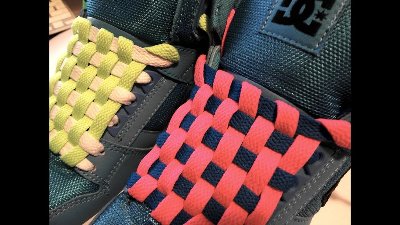 How To Checkerboard Lace Your Shoes Without Bow