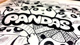 Как рисовать карандашом. Панды. Doodle pandas by Pencilmania.(Panda. Как рисовать карандашом. Рисунки лайнерами. Я в социальных сетях: https://vk.com/pencilmania https://vk.com/vpolo Многоуважа..., 2016-05-26T14:56:01.000Z)