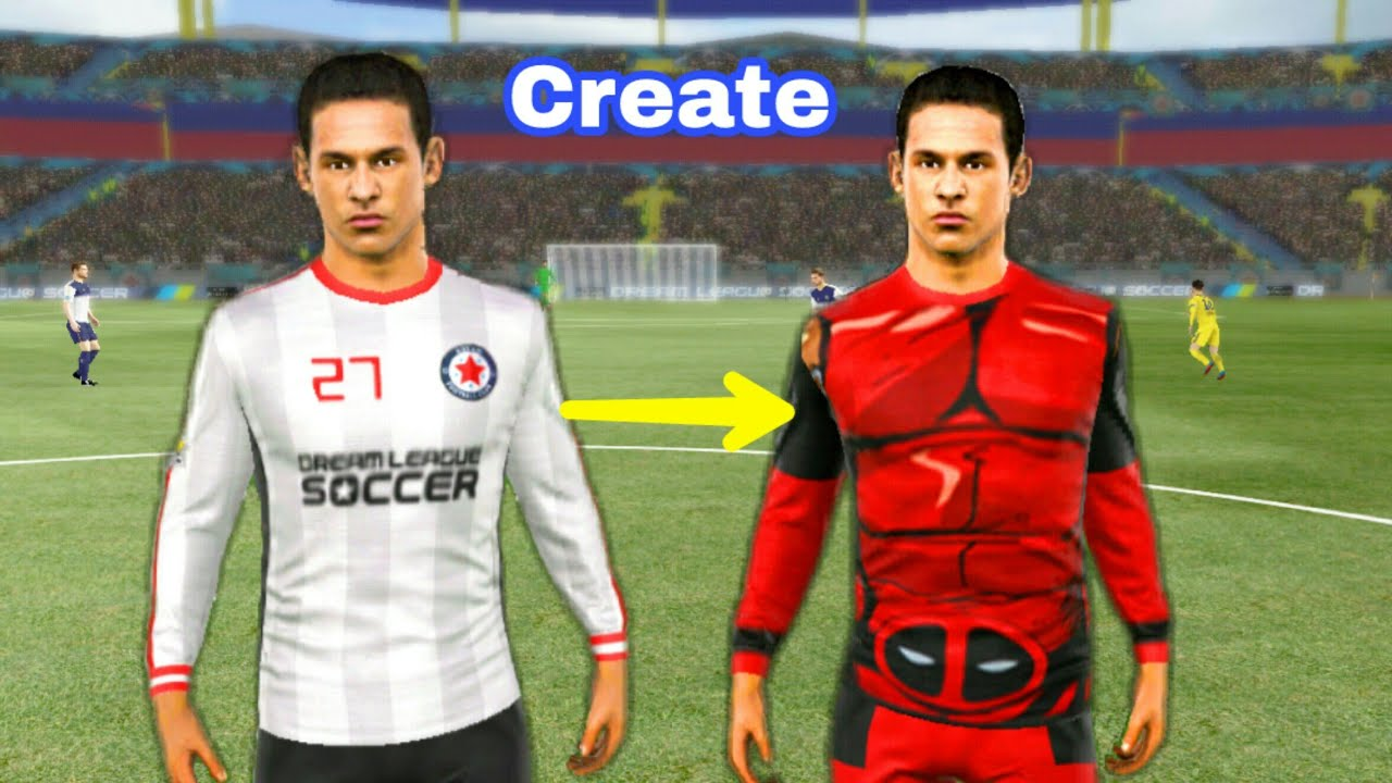 d1aed4c55 Create DEADPOOL Kits ☆ Dream League Soccer 2018   2017 - YouTube