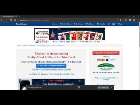 How to Download and Install Pretty Good Solitaire