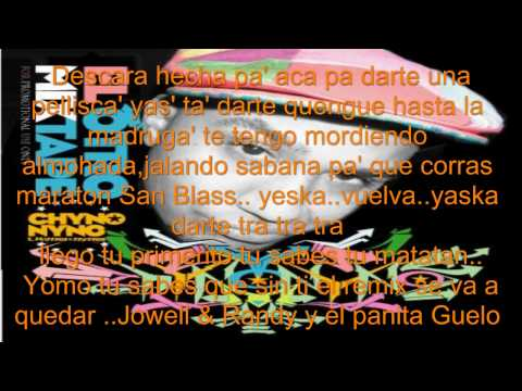 Descara  Jowell & Randy ft Yomo , Chyno Nyno , Guelo Star Letra   ElCubiitO