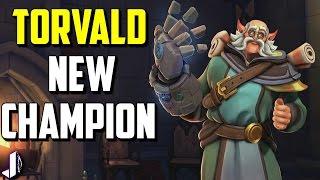 Torvald Paladins New Champion Reveal OB 42