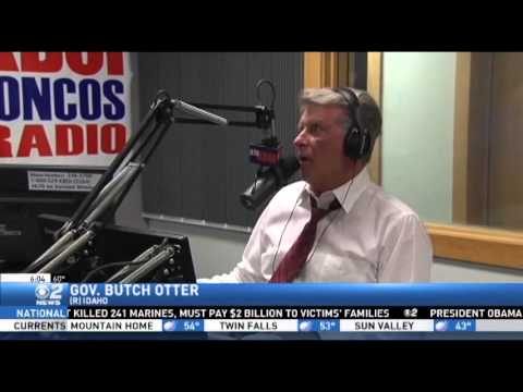 Gov Otter on Nate Shelman Radio Show