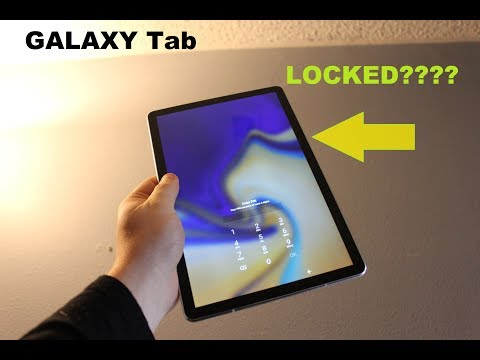 How to reset password on my samsung galaxy tablet