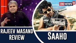 Saaho movie review by Rajeev Masand I Prabhas I Shraddha Kapoor