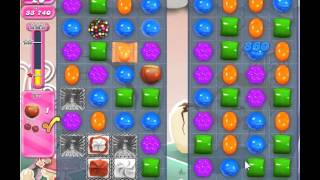 Candy Crush Saga Level 344 - 3 Star - no boosters