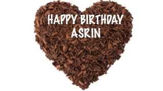 AsrinVersionEE like Asreen   Chocolate - Happy Birthday
