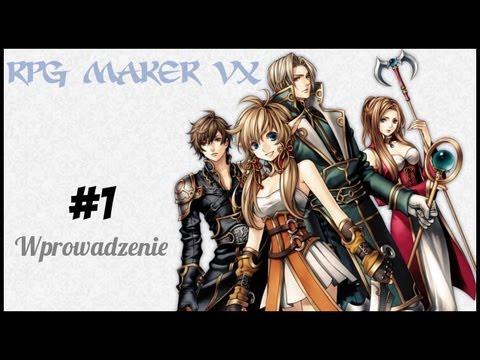 RPG Maker VX #1 - Wprowadzenie