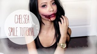 Chelsea Smile Halloween Tutorial